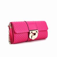2014 New Diamond-shaped Clutch Evening Bags,Ladies Fashion Chain Cowhide Messenger Bags,Genuine Leather Bolsas de Ombro B140