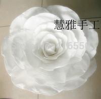 Diameter of 20 3040 50 to 60 cm wedding studio supplies window stage props paper flowers  simulation silk flowers white rose