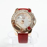 The new 2014 female fashion big dial watch set auger fashion table quartz watch
