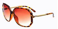 2014 new arrive fashion 20 pcs /lot madness brand   women classical  round sunglasses  metal leg  big frame glasses  uv400