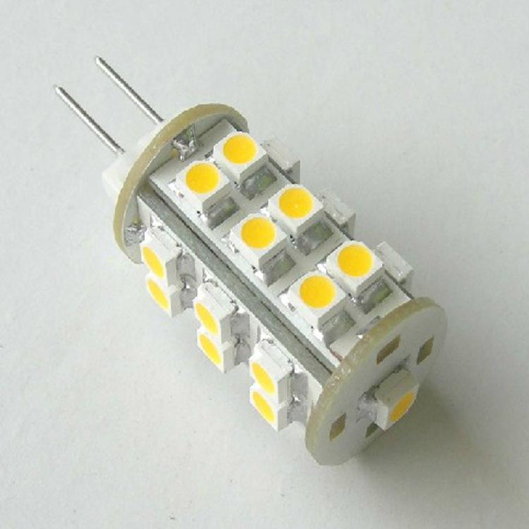 10pcs/lot High Power SMD3528 Crystal Light 3W 12V G4 LED Bulb lamp Replace 10w halogen bulb warranty Free Shipping(China (Mainland))