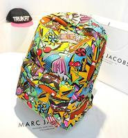 New Arrivals! Hot Wholesale high quality 2014 new fashion institute wind Hamburg graffiti backpack, shoulder bag lady sweet