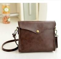 Free shipping! Wholesale high quality 2014 new retro minimalist Imitated Leather mini lady shoulder bag, messenger bag