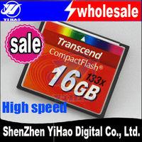 FREE SHIPPING+ transcend Compact Flash CF Card 2GB 4GB 8GB 16GB 32GB Memory Card