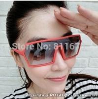 Han edition sunglasses big frog mirror box glasses sunglasses for men and women