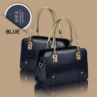2014 New Fashion Noble patent leather PU Women Handbag Lady Shining leather Tote Handbag Messenger Bags free shipping