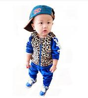 The new 2014 autumn baby clothes boy's suit