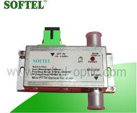 Hot sale 1550NM Mini Optical Receiver Build-in Filter