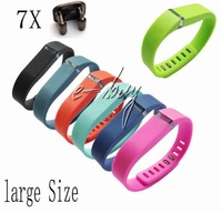 7pc Large Replacement Band For Fitbit Flex Band Wristband Bracelet W/ Clasps free shipping