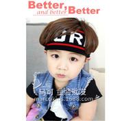 (10pcs per lot in mix colors) 2015 fashion baby sport elastic turban head band