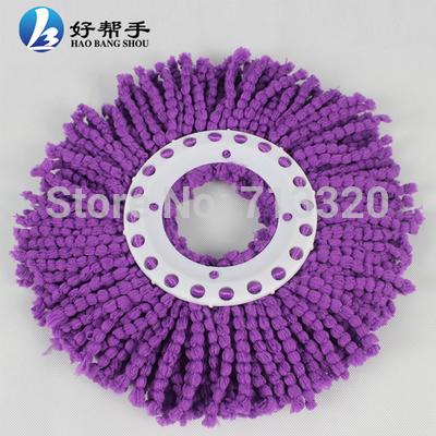easy mop head/Microfibre mop head *5pcs two colors(China (Mainland))