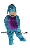 100% real pictures  Eeyore Donkey  mascot costume cartoon costumes adult fancy dress party costumes EVA foam