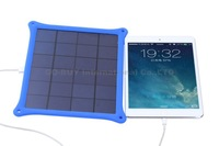 10PCS/LOT 4.2W 5V/0.8A Universal Sun Power Panel Solar Charger Pad for Iphone ipad Mobile phones / MP3 / Digital Camera / GPS