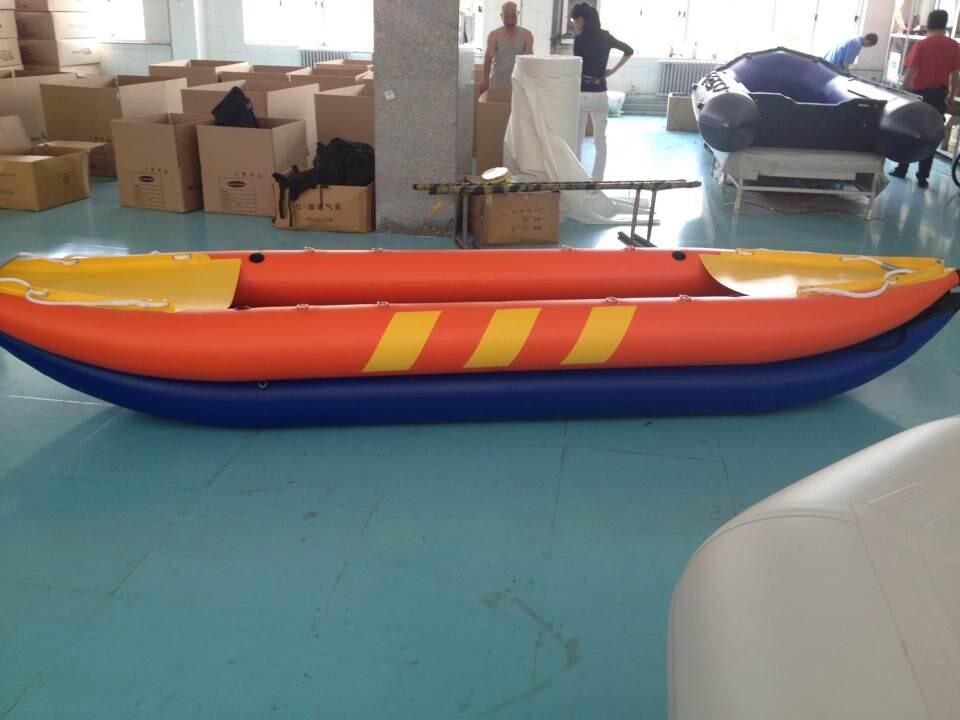 Double Seat Inflatable Kayak Fishing boat(China (Mainland))