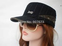 Free shipping New Military Flat Hat Cap Classic Men/Women Flat Adjustable JE11