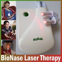 2014 New BioNase Nose Rhinitis Sinusitis Therapy Massage,Hay fever,Low Frequency Pulse And Laser therapy instrument FreeShipping