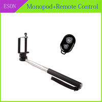 3 in 1 Selfie Rotary Extendable Handheld Camera Tripod Mobile Phone Monopod+ Wireless Bluetooth Remote Control For Smarthone