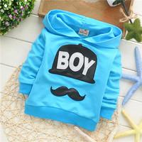 2014 spring unisex boys girls regular hoody active cotton baby children sweatshirts KT225R