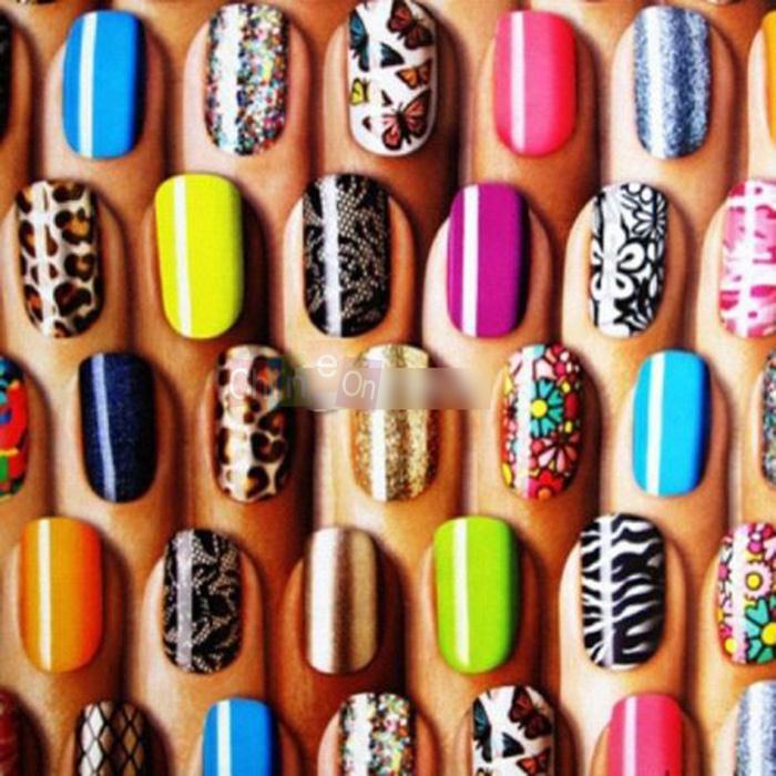 Арт дизайн на ногтях