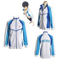 Free! Iwatobi Swim Club Haruka Nanase Cosplay Costume Jacket