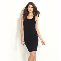 FREE SHIPPING New arrival version of the summer one-piece dress fashion women's sleeveless slim hip basic tank dress 6339