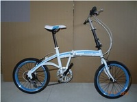 20-inch high-end speed folding bike, speed mountain bike, student car