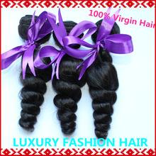 Grau 5a ms lula madeixas de cabelo virgem peruano onda solta 3 / 4pc uma cor natural muito 8-30inch frete grátis aceita paypal(China (Mainland))