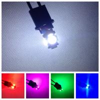 100X Led Car lighting T10 5smd 5050 LED auto bulb for pinball white 168 194 5050 5 led Wedge Light Bulbs led clearance bulb