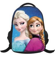 Beauty Cute Backpacks Cartoon Printed Anna Elsa Frozen Backpack Bolsa Infantil Mochilas School Kids Frozen School Bags For Girls