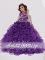 Hot Kids Toddler Baby flower Girl dress Clothes Cotton Party Prom Dress Size 2 4 6 8 10 12 14 16 ++++