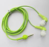 A2 Green 3.5mm Earphone In-ear Headphone Earpiece Gourd Cable Desigh for Mp3 Mp4 Mp5 D0203