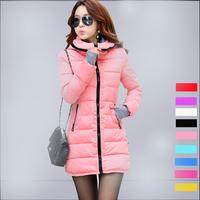 2014 Winter and Autumn Wear High Quality White Duck Down Women Long Coats   TSP1657