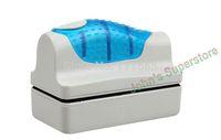 Free Shipping, L Magnetic Brush (12*6.5) Aquarium Fish Tank Glass Algae Scraper Cleaner Floating Pet Cleaning Tool Accessories