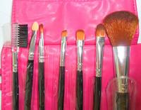 2014 new  High quality 7pcs   brush set  comestics rose  y817-3