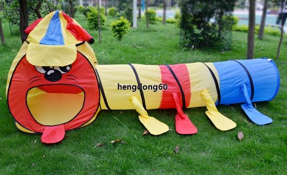 crianças menina menino b5ut jogo portátil projeto brincar túnel sala grande tenda teatrinho de brinquedo(China (Mainland))