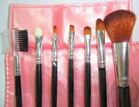 2014 new  High quality 7pcs   brush set  comestics pink y817-2