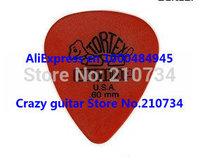72 piece Guitar Picks .60 mm Orange Dunlop Tortex Guitar Picks from china free shipping