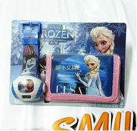 ben10 Projection watch + zero wallet, children Christmas gifts, package toy suit.Frozen watch