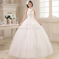 Wedding dress 2014 new Korean flower diamond wedding Qi vestidos de noiva bridal gown vestido de casamento weddings 414