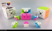 New MoYu  AoLong v2 3x3 Stickerless Magic Cube  3x3x3 57mm Pink Version