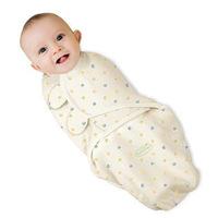 Swaddleme summer organic cotton infant parisarc newborn swaddle blanket baby