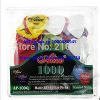200pcs/BOX Alice AP-100Q Matte ABS Guitar Picks Standard Plectra 0.58/0.71/0.81mm Free shipping