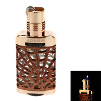 JOBON  Perfume Bottle Shape Lighter  Creative and Funning  Suitable for  gift-giving-  Coffee + Golden -21000124