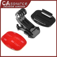 GP57 J Hook Buckle Mount 3M Sticker Flat Mount For Go Pro Hero 3 /3/2/1,gopro accessories Free shipping
