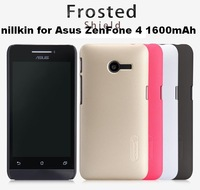 Free shipping 10pcs for Asus ZenFone 4 (1600mAh) cases Nillkin frosted shield +10pcs Screen protector +Retail Box