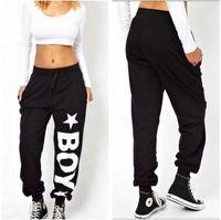 HA-28 Women hip hop pants Casual women's sports pants jogging femme Sport trousers Joggers Sweatpants women