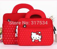 CSCASES High quality cute sleeve for iapd 4 3 2 air ,sleeves for  ipad mini 2 ,cute soft pouch handbag with cattoon design bags