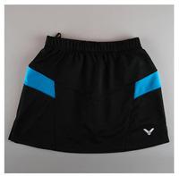 2014 Women's Sports Skirt tennis Victor Tennis Skirts Brand Logo Woman Badminton Skort Plus Size XXXL Free Shipping