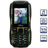 K300 Waterproof Phone With Dual SIM Card FM Bluetooth 2.0 Inch Single Camera shockproof Dustproof Cell Phone