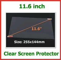 20pcs Universal Ultra Clear LCD Screen Protector 11.6 inch Protective Film for Laptop Notebook Tablet PC Size 255x144mm